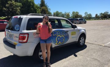 Find Lauren this summer in the Kool98 Cruiser to get yourself some sweet stuff!