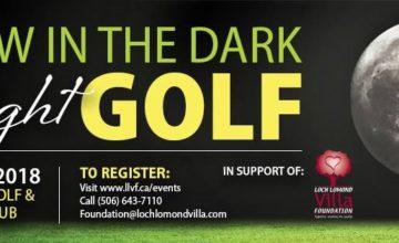 glow in dark golf