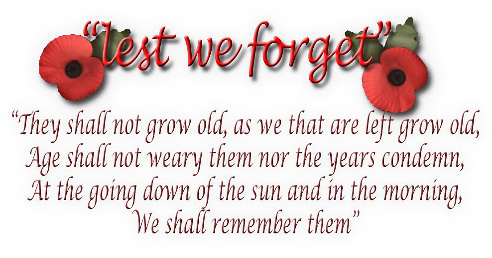Lest we forget 2